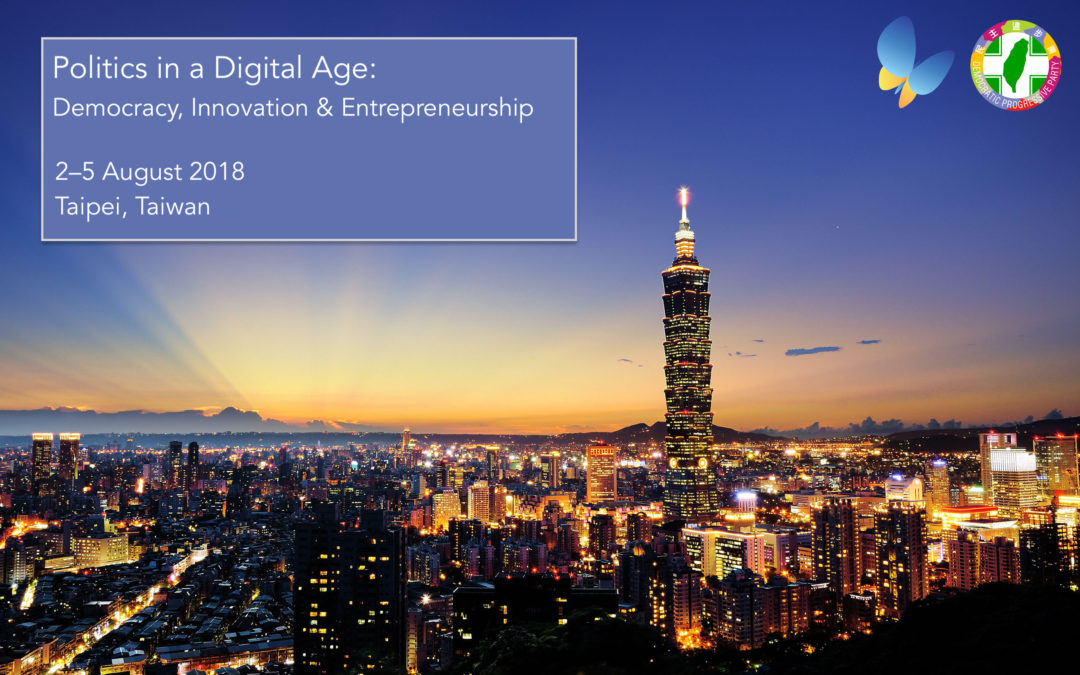 "Registration open: ""Politics in a Digital Age"" in Taiwan"